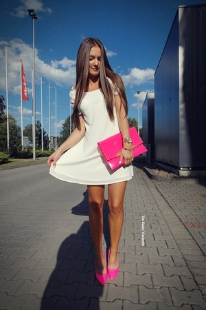 white StyleMoi dress