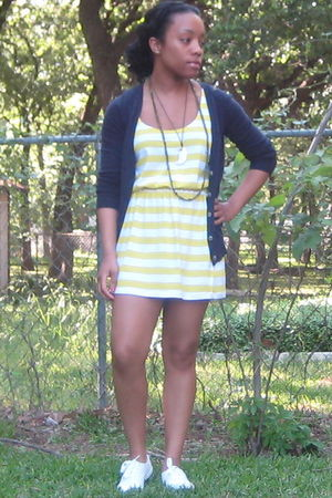 Old Navy cardigan - Forever 21 dress - Keds shoes
