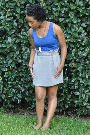 Target shirt - modcloth skirt