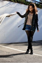 American Eagle shorts - Marc by Marc Jacobs boots - Express jacket