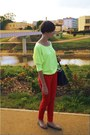 Yellow-reserved-blouse-black-reserved-bag-red-nn-pants