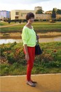 Black-reserved-bag-yellow-reserved-blouse-red-nn-pants