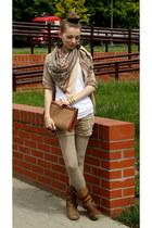 camel shoes - camel bag