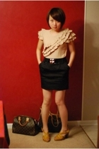 Plenty by Tracy Reese blouse - Forever21 skirt - Payless Shoes shoes