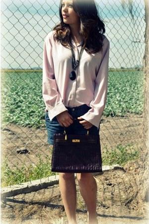 thrifted bag - Thrift Store shirt