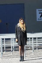 navy military castro coat