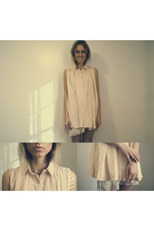 peach felicee dress