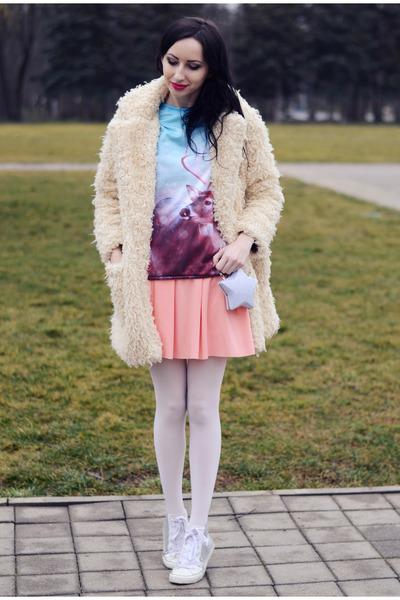 style moi skirt - Chicwish bag - MrGugu&Miss Go sweatshirt