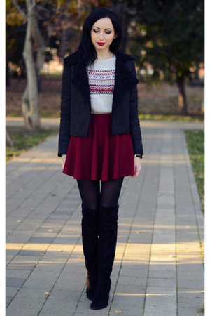 OASAP skirt - Chicwish jacket