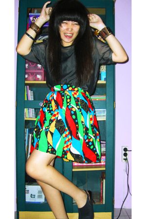klik-klok shop blouse - klik-klok shop skirt