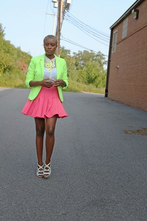 Gap jacket - H&M skirt
