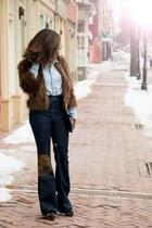 H&M coat - Elizabeth and James jeans