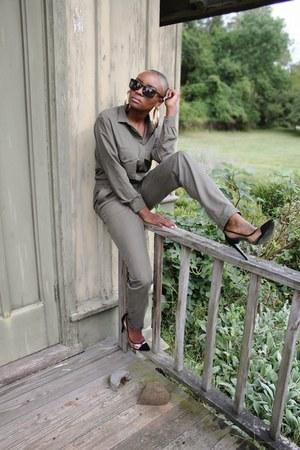 H&M jumper - BCBG heels