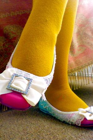 handmade shoes - Target socks
