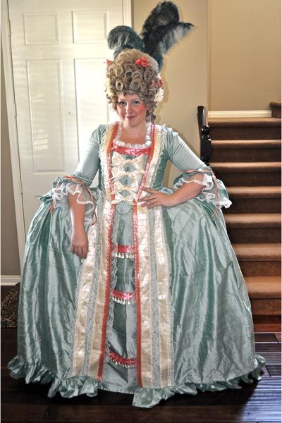 Homemade Dresses Marie Antoinette Costume 2009 By