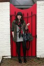 White-striped-forever-21-dress-olive-green-parka-wet-seal-jacket-ruby-red-fl