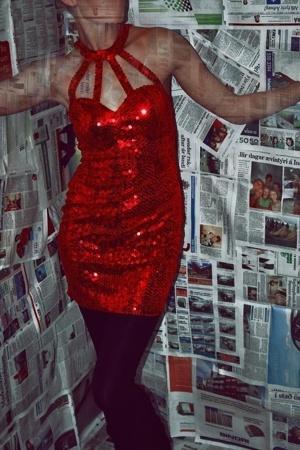 vintage dress -