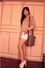 Off-white-studded-parisian-boots-camel-pop-culture-shirt-white-diy-shorts