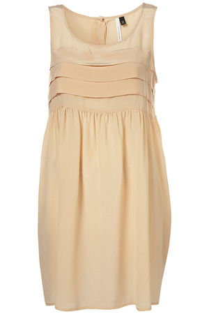 beige Topshop dress
