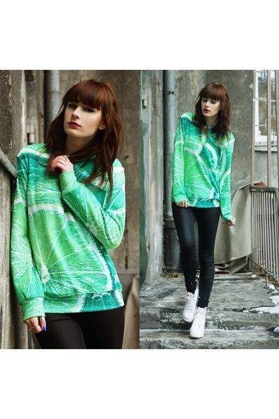 chartreuse Oasapcom blouse