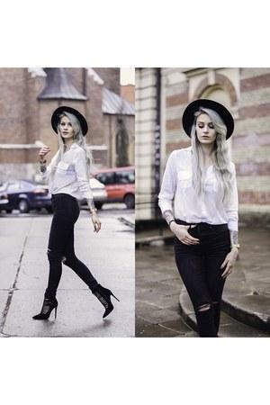 black H&M pants