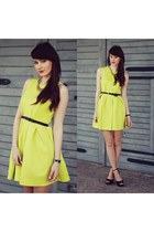 yellow PERSUNMALL dress