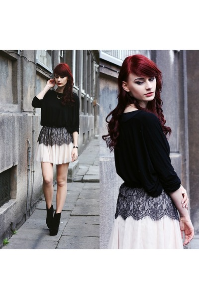 eggshell Chicwish skirt