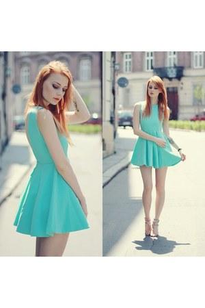 aquamarine Modekungen dress