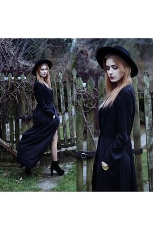 black Sheinsidecom dress