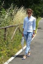 Chronotech watch - Dsquared2 jeans - Stradivarius shirt - Dynasty bag