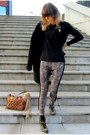Zara-boots-mango-coat-zara-scarf-segue-bag-zara-t-shirt-marina-c-watch
