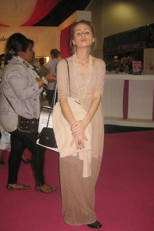Topshop dress - Chanel bag - Topshop accessories