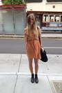 Vintage-boots-blessed-are-the-meek-dress-alexander-wang-bag