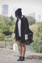 H&M boots - H&M coat - rag & bone sweater