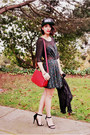 Black-inlovewithfashion-dress-black-obey-hat