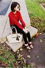 Ivory-satchel-coach-bag-black-high-waisted-madewell-jeans