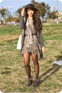 Black-shearling-wedge-h-m-boots-army-green-h-m-dress-black-straw-boater-thri