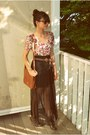 Tawny-goodwill-bag-brown-round-h-m-sunglasses-light-pink-floral-h-m-top-bl