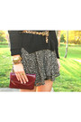 Maroon-clutch-zara-hobo-the-original-bag