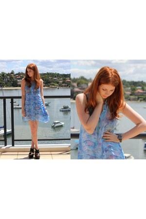 May Cooper Dress dress - Chanel watch - Pleasure State Bralet bra