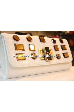 White Clutch purse purse