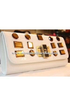 White Clutch purse purse
