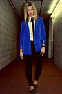 Black-citizens-of-humanity-jeans-blue-electric-blue-forever-21-blazer