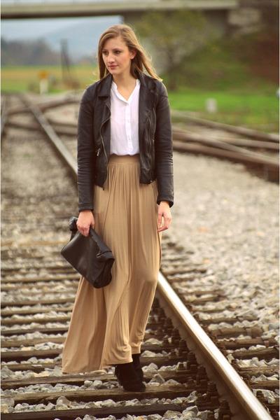 Zara jacket - Stradivarius skirt