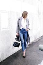 ca coat - Zara shirt
