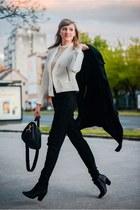 H&M bag - asos pants