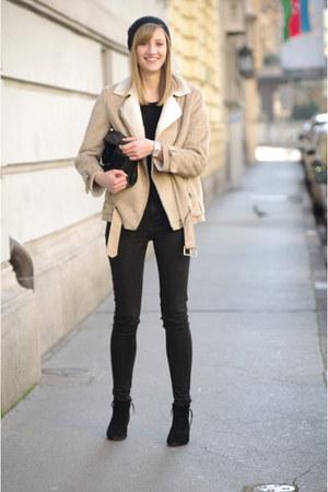Zara jeans - H&M hat - H&M jacket - Zara bag