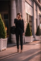 Zara bag - asos pants