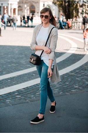 Zara jeans - Topshop sneakers