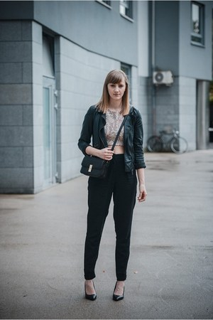 Zara top - asos pants